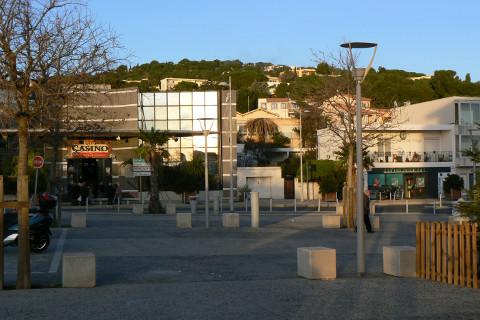 la Corniche-place du casino