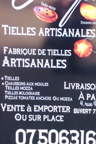 Tielles et pizzas artisanales au feu de bois